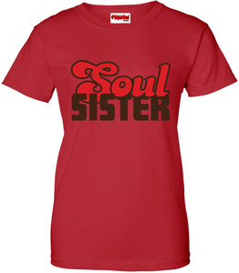 SuperBad Soulware Women's T-Shirt - Soul Sister - Red - BRR