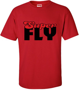 SuperBad Soulware Men's T-Shirt - Super Fly - Red - BR