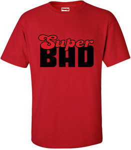 SuperBad Soulware Men's T-Shirt - Super Bad - Red - BR
