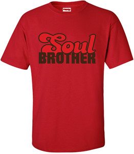 SuperBad Soulware Men's T-Shirt - Soul Brother - Red - BRR