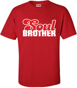 SuperBad Soulware Men's T-Shirt - Soul Brother - Red - WR