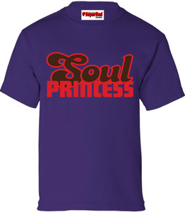 SuperBad Soulware Girls T-Shirt - Soul Princess - Purple - RBR