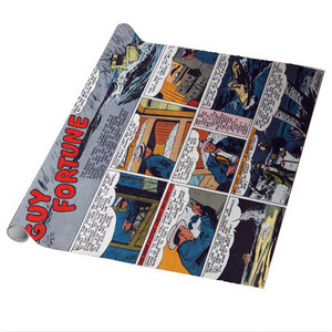 Vintage Black Heroes Wrapping Paper Sheets - Guy Fortune - CST6 - Package Of 5