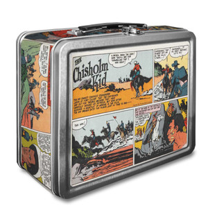 Vintage Black Heroes Lunchbox - The Chisholm Kid - CST3