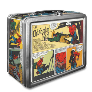 Vintage Black Heroes Lunchbox - The Chisholm Kid - CST4