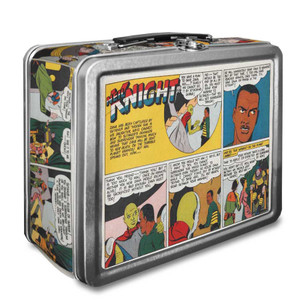 Vintage Black Heroes Lunchbox - Neil Knight - CST5
