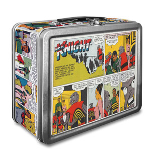Vintage Black Heroes Lunchbox - Neil Knight - CST17