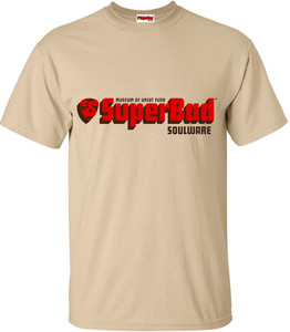 SuperBad Soulware Men's T-Shirt - Tan