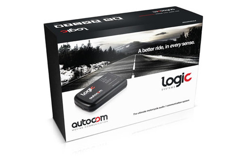 AUTOCOM Logic Expandable Duo Audio System Intercom Kit L2