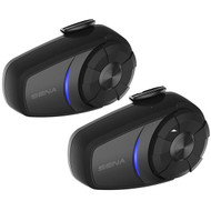 SENA 10S Motorcycle Bluetooth Intercom Communication System Dual