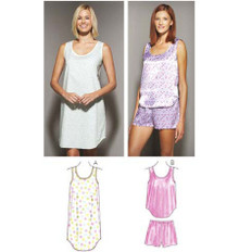 Sewing Pattern - Misses Pattern, Sleepwear Pattern, Kwik Sew