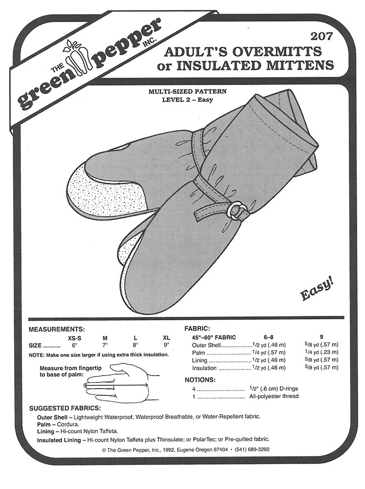 Mitten Pattern To Sew Choice Image - origami instructions easy for kids