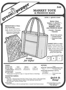 Sewing Pattern - Rugged Tote & Portfolio Pattern, Green Pepper Patterns