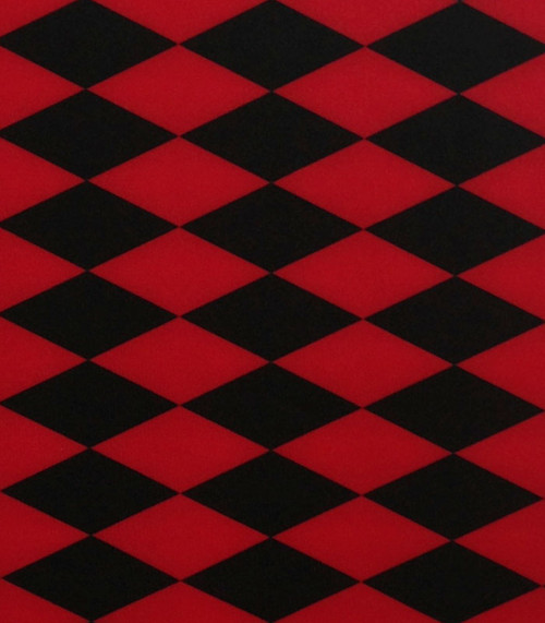 Stretch Fabric - Harlequin Print Fabric - Diamond Print Fabric Four way Stretch Spandex Fabric