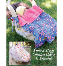 Sewing Pattern - Infant Pattern, Baby Pattern, Car Seat Cover Pattern and Carrier Blanket Pattern