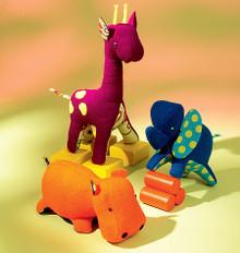 Sewing Pattern - Ellie Mae Designs Toy Pattern, Child's Toy Pattern, Kwik Sew #K0116