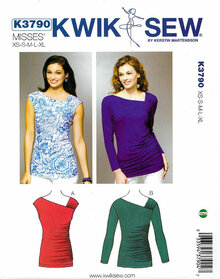 Sewing Pattern - Misses' Tops Kwik Sew # K3790