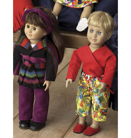 Sewing Pattern - Doll Clothes Pattern, Kwik Sew #K3091