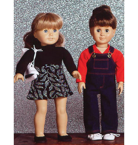 Sewing Pattern - Doll Clothes Pattern, Kwik Sew #K2921
