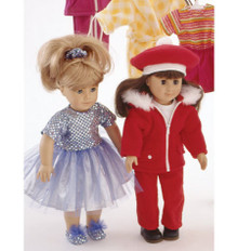 Sewing Pattern - Doll Clothes Pattern, Kwik Sew #K2830