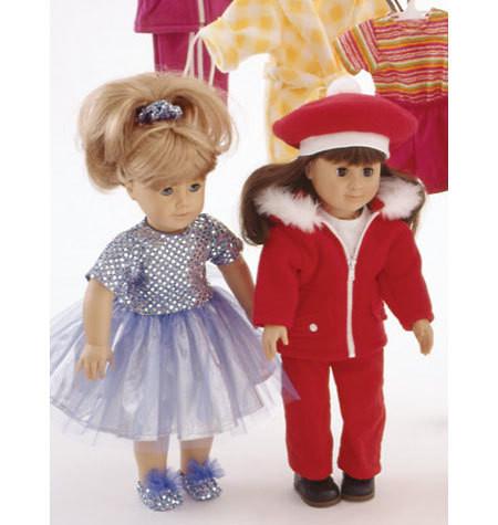 Sewing Pattern - Doll Clothes Pattern, Kwik Sew #K2830
