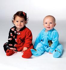 Sewing Pattern - Infant Pattern, Baby Pattern, Sleeper Pattern- Kwik Sew #K3960