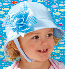 Sewing Pattern - Ellie Mae Designs, Baby Pattern, Toddler Pattern, Hat Pattern in Four Views - #K3989