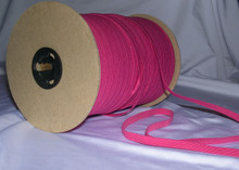"Braided Elastic- Fuschia-1/4"" Wide"