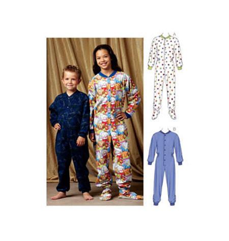 Sewing Pattern - Girls Pattern, Pajamas Pattern, Kwik Sew #K3714