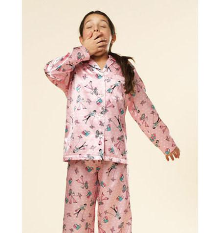 Sewing Pattern - Girls Pattern, Boys' Pajamas Pattern, Girls' Pajamas Pattern, Kwik Sew #K3589