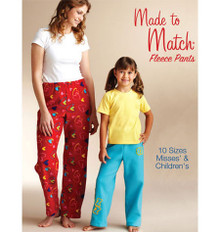 Sewing Pattern - Misses Pattern, Fleece Pants Pattern, Kwik Sew #K3837