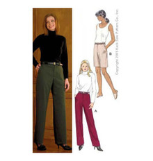 Sewing Pattern - Misses Pattern, Pants Pattern, Shorts Pattern, Kwik Sew #K3345