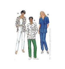 Sewing Pattern - Misses Pattern, Scrubs Pattern, Kwik Sew #K2807