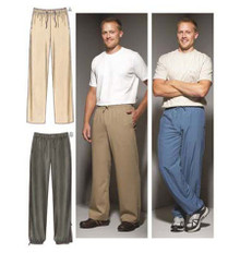 Sewing Pattern - Mens Pattern, Pants Pattern, Kwik Sew #K3663