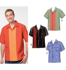 Sewing Pattern - Mens Pattern, Shirts Pattern, Kwik Sew