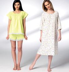 Sewing Pattern - Misses Pattern, Misses' Sleepwear Pattern, Kwik Sew #K3943
