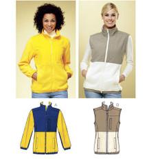 Sewing Pattern - Misses Pattern, Jacket Pattern, Vest Pattern, Kwik Sew #K3813