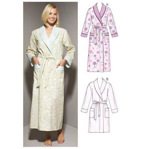 Sewing Pattern - Misses Pattern, Robes Pattern, Kwik Sew #K3644
