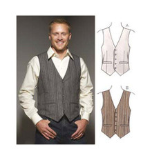 Sewing Pattern - Mens Pattern, Vests Pattern, Kwik Sew #K3662