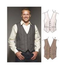 Sewing Pattern - Mens Pattern, Vests Pattern, Kwik Sew #K3662
