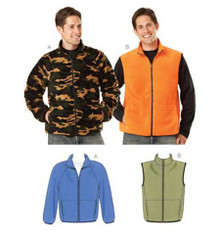 Sewing Pattern - Mens Pattern, Jacket Pattern, Vest Pattern, Kwik Sew #K3638
