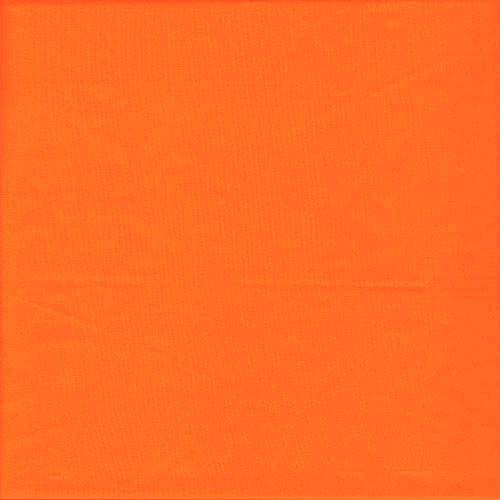 Matte Stretch Fabric - Four way Stretch Nylon Spandex Fabric- Dark Orange
