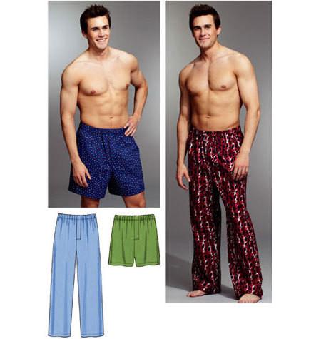 Sewing Pattern - Mens Pattern, Sleep Pants Pattern, Kwik Sew #K3793