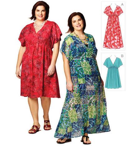 Sewing Pattern - Womens (Plus) Pattern, Dresses Pattern, Kwik Sew #K3868