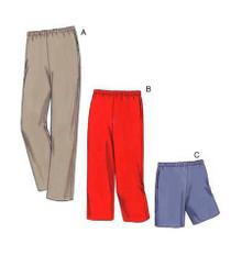 Sewing Pattern - Womens (Plus) Pattern, Pants Pattern, Shorts Pattern, Kwik Sew #K3482