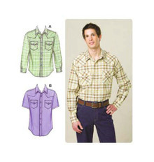 Sewing Pattern - Mens Pattern, Shirts Pattern, Kwik Sew #K3506