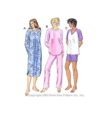 Sewing Pattern - Misses Pattern, Sleepwear Pattern, Kwik Sew #K3144