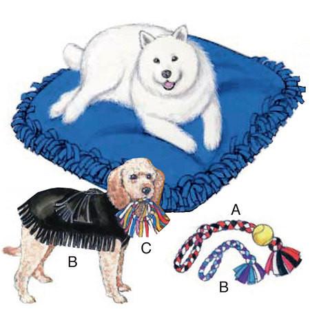 Sewing Pattern - Pet Pillows Pattern, Pet Jackets Pattern, Pet Toys Pattern, Kwik Sew #K3357