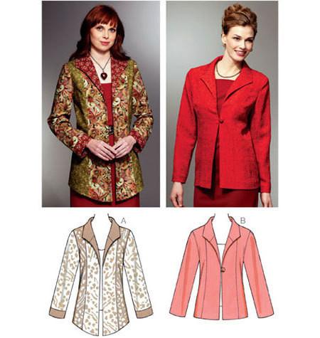 Sewing Pattern - Misses Pattern, Jackets Pattern, Kwik Sew #K3796
