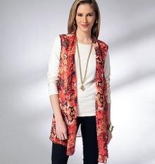 Sewing Pattern - Misses Pattern, Misses' Vests Pattern, Misses' Jackets Pattern, Kwik Sew #K3952